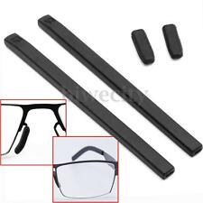 A Set Black Silicone Cover Temple Tips Pad For ic! berlin Glasses Sunglass Frame