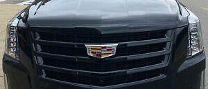 GM General Motors OEM Cadillac Escalade ESV Black Ice Front Grille Generation 4