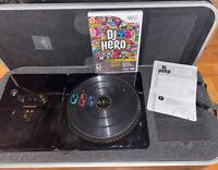 DJ Hero Renegade Edition (Nintendo Wii, 2009) Hard Case Stand Limited