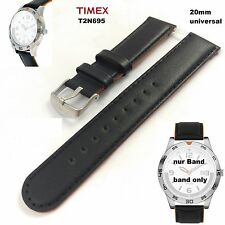 Timex repuesto Pulsera t2n695 Sport Collection-LW universal - 20mm cuero