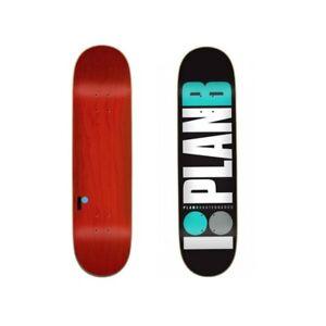 PLAN B Team Og Teal 7.75 Skateboard Deck