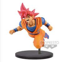 """Banpresto Dragon Ball SUPER SON GOKU FES!! VOL9 (A:SUPER SAIAN GOD) 7.87"""" FIGURE"""