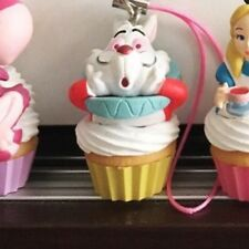 A84 Takara Tomy Disney Alice in Wonderland Cup Cake Mascot Series- White Rabbit