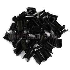 100pcs Black Hair Extensions Fusion Keratin Glue Rebond & FREE Finger Protector