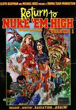 Return to Nuke Em High Volume 1 (DVD, 2014) Troma Movies Lloyd Kaufman