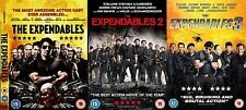 The Expendables Trilogy Collection Part 1 2 3 Sylvester Stallone NEW UK R2 DVD