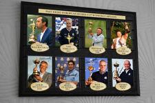 Ryder Cup Winning Captains Golf Framed Canvas Tribute Print Signed