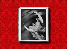 MOON GODDESS FAIRY PIN UP STARS B&W VINTAGE WALLET CARD CIGARETTE ID IPOD CASE