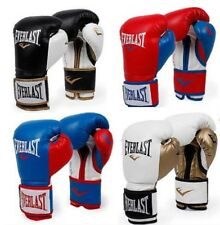 Everlast Boxing Powerlock Training Gloves Sparring Bag Mitt Work 10/12/14oz