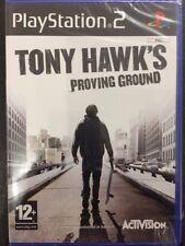 Sony PS2 Playstation 2 Tony Hawk's Proving Ground NUOVO FACTORY SEALED