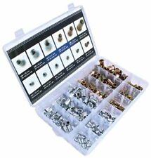 A-RM 300pc Rivnuts Blind Set Nutserts Threaded Rivet Nuts Carbon Steel M3-M10