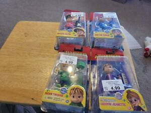 Fisher Price Alvin And The Chipmunks 4 pc Lot Collectible Figures Rockin Groovin