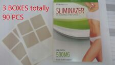 3xSliminazer totally 90 Pieces slimming patches inside Box 100% ORIGINAL