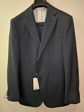SuitSupply Napoli Navy Pinstripe Suit 40 Long