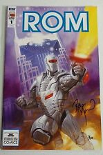 ROM #1 Starbase 1552 Comics exclusive SIGNED BY  Dave Dorman!
