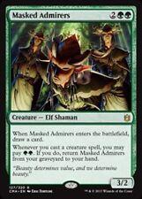 Masked Admirers NM Commander Anthology Green Rare MTG