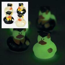 2 Dozzina (24) MINI Glow-in-the-Dark LAUREA Rubber Ducky Partito Favori