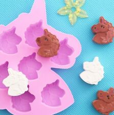 Unicorn Baking Mould Cake Jelly Cookies Soap Mold Chocolate Tray Wax Ice Cube 3D