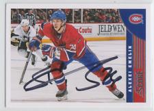 Autographed 13/14 Score Alexei Emelin - Canadiens