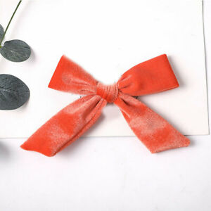 Fashion Big Bow Hairpins Girls Lovely Hair Clips For Women Hair Accessories Gift