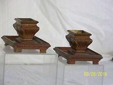 """Pair-Antique Bronze c19th Century Neoclassical Design """"Rare"""" Vases Statues"""