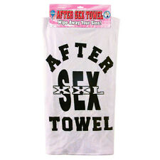 After Sex Towel Wipe Away Your Sins (Joke, Funny, Gift, Birthday)