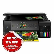 Epson Expression Et-7700 3in1 Wireless Refillable Ink Tank Printer SD Card Slot