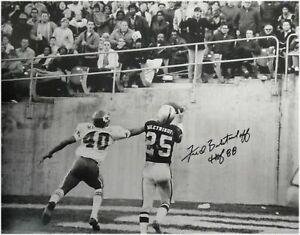 Fred Biletnikoff Signed Autographed 16x20 Photo Oakland Raiders TD Catch JSA