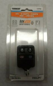 Dorman 13799 Keyless Entry Remote Fob for Ford 1998-2016 Vehicles