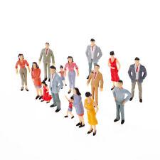 200X Modell Menschen Figur Passagierplattform Bahnhof Straßenszenen N Spur 1:150