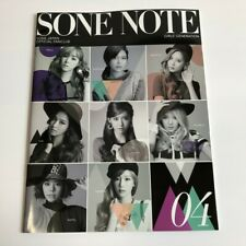 SNSD GIRL'S GENERATON SONE JAPAN Offical Fanclub SONE NOTE 04 K-POP