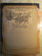 Pacific Coast Pocahontas Nez Perce War 1906 Newspaper