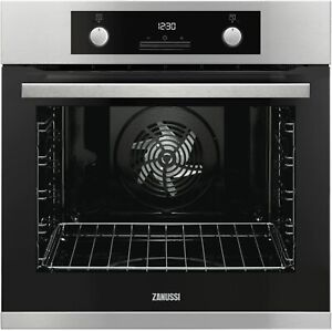 ZANUSSI ZOP37987XU STAINLESS PYROLYTIC ELECTRIC OVEN - BRAND NEW LOWEST UK PRICE