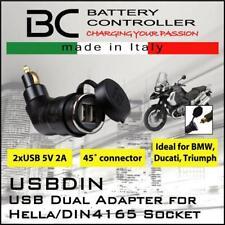 BC Battery Controller 710-FP612V Connecteur//Adaptateur pour Chargeur de Batterie pour Prises 12 V Hella//DIN 4165