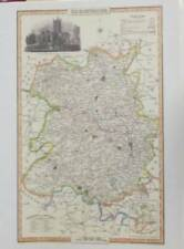 Shropshire 1800-1899 Date Range Antique Europe County Maps