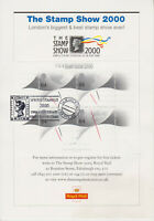 STAMP SHOW 2000 OPTD MILLENNIUM TIMEKEEPER SHEET SPRING STAMPEX FDI PMK RARE