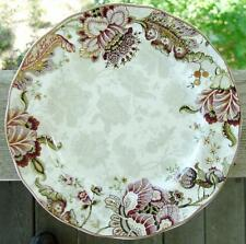 "222 FIFTH AVENUE (PTS)..""Gabrielle-Cream""..2 Dinner Plates..MINT..FREE Shipping!"