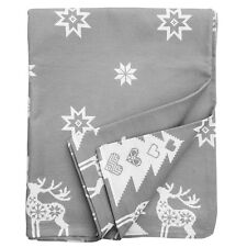 Ragged Rose Christmas Cotton Table Cloth 140x230cm