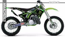 KAWASAKI KX125 KX250 1999 2000 2001 2002 MAXCROSS GRAPHICS KIT FULL MSP-STYLE-1