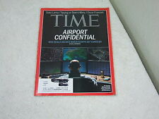 Time Magazine ~ March 3,, 2014 ~ Airport Confidential Who Really Decides Which