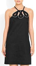LAUNDRY BY SHELLI SEGAL BLACK SHIFT DRESS BNWT RETAIL $225 SIZE UK 10