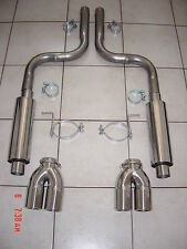 Jaguar XK8, XKR, XKR-S 4.2 (2006-09) Stainless Steel Sports Exhaust System