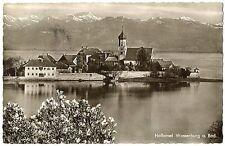 alte Postkarte Halbinsel Wasserburg a.Bod