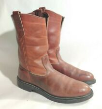 Red Wing Pecos Boots  Pull On Super Sole Mens Size 10.5 B Style #1292