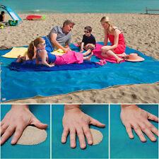 Sand Free Beach Mat Camping Outdoor Picnic Large Mattress Waterproof Bag Magic