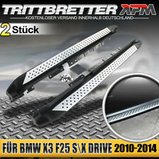 Aluminium Trittbretter Schweller für BMW X3 F25 2010-2018 I4 1.6L 2.0L I6 3.0L