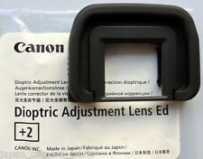 Canon Dioptric Adjustment Lens Ed+2 for EOS 3/A2/A2E/ELAN 7/7E/7N/7NEll/llE