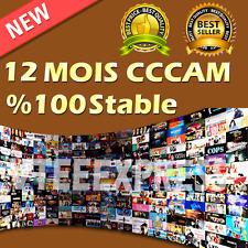 CCCAM 4 Cline HD 100% stable Pour Tous Les Récepteurs