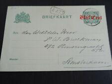 Nederland briefkaart 111 a II Ravenstein - Amsterdam