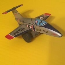 Line Mar Toys Us Air Force Fg-786 37786 Tin Toy Litho Friction Jet Usaf Japan